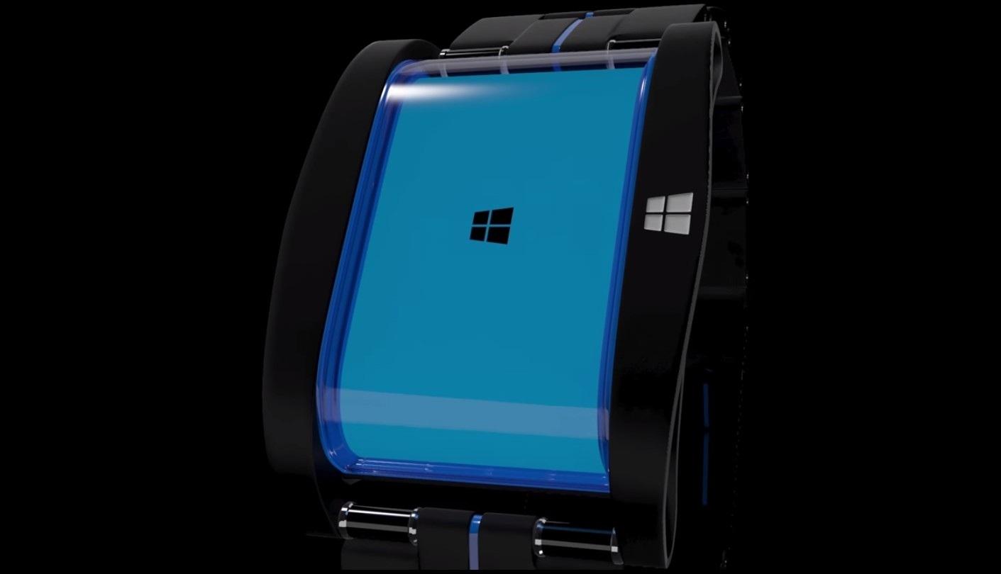 Microsoft smartwatch concept