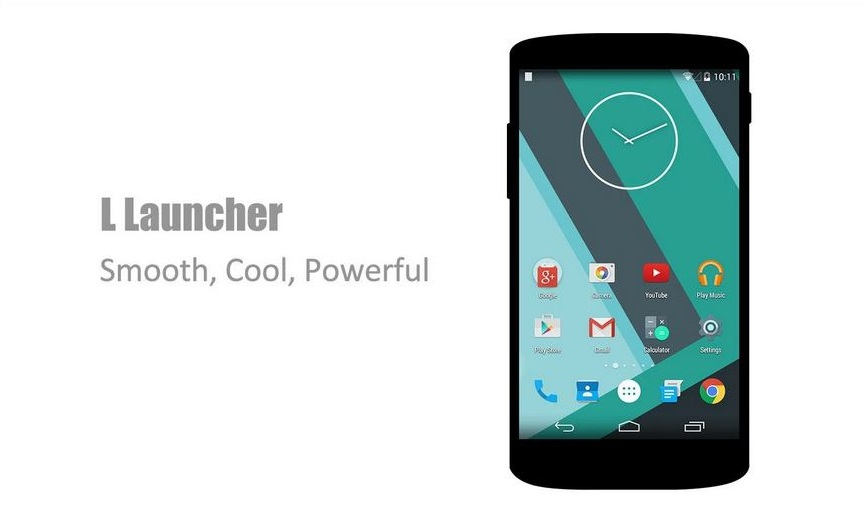 L Launcher Android Lollipop
