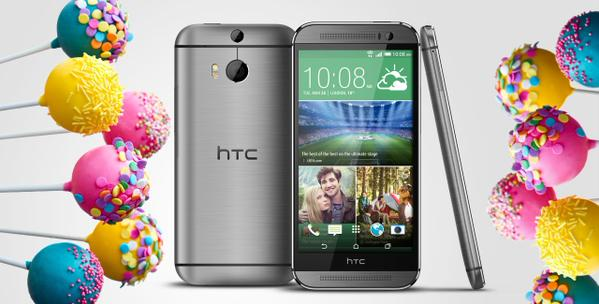 Android 5.0 Lollipop rolling out OTA for HTC One M8