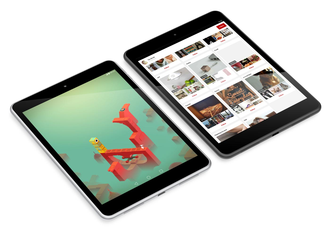 The Nokia N1 tablet seems to be a better performer than Apple and Samsung compact slates