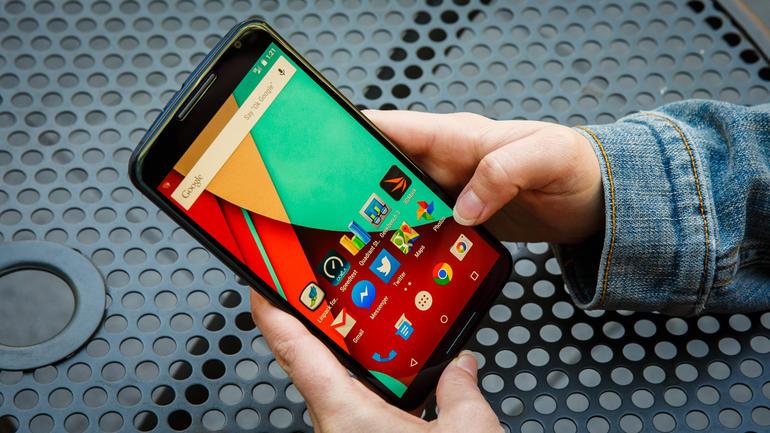 Nexus 6 display