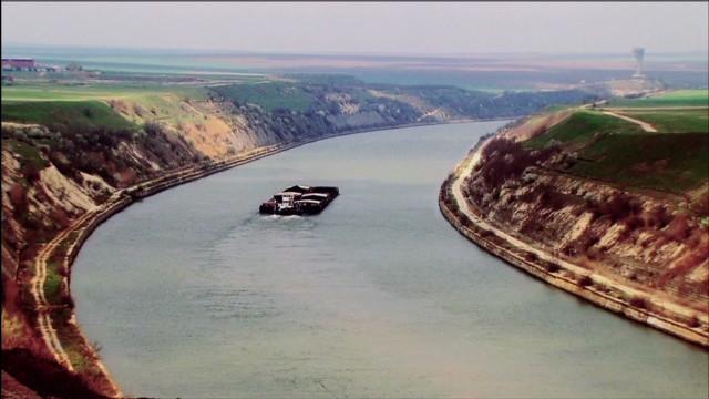 Danube river deepening