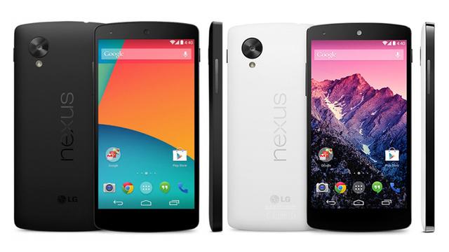 Nexus 5 back on Google Play Store