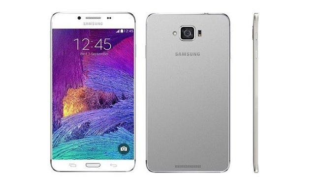 Samsung Galaxy S6 metallic body