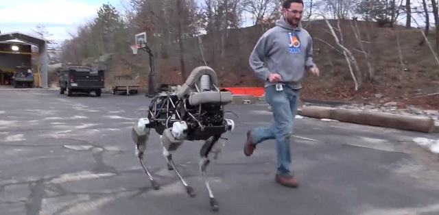Spot the robot dog by Boston Dynamics