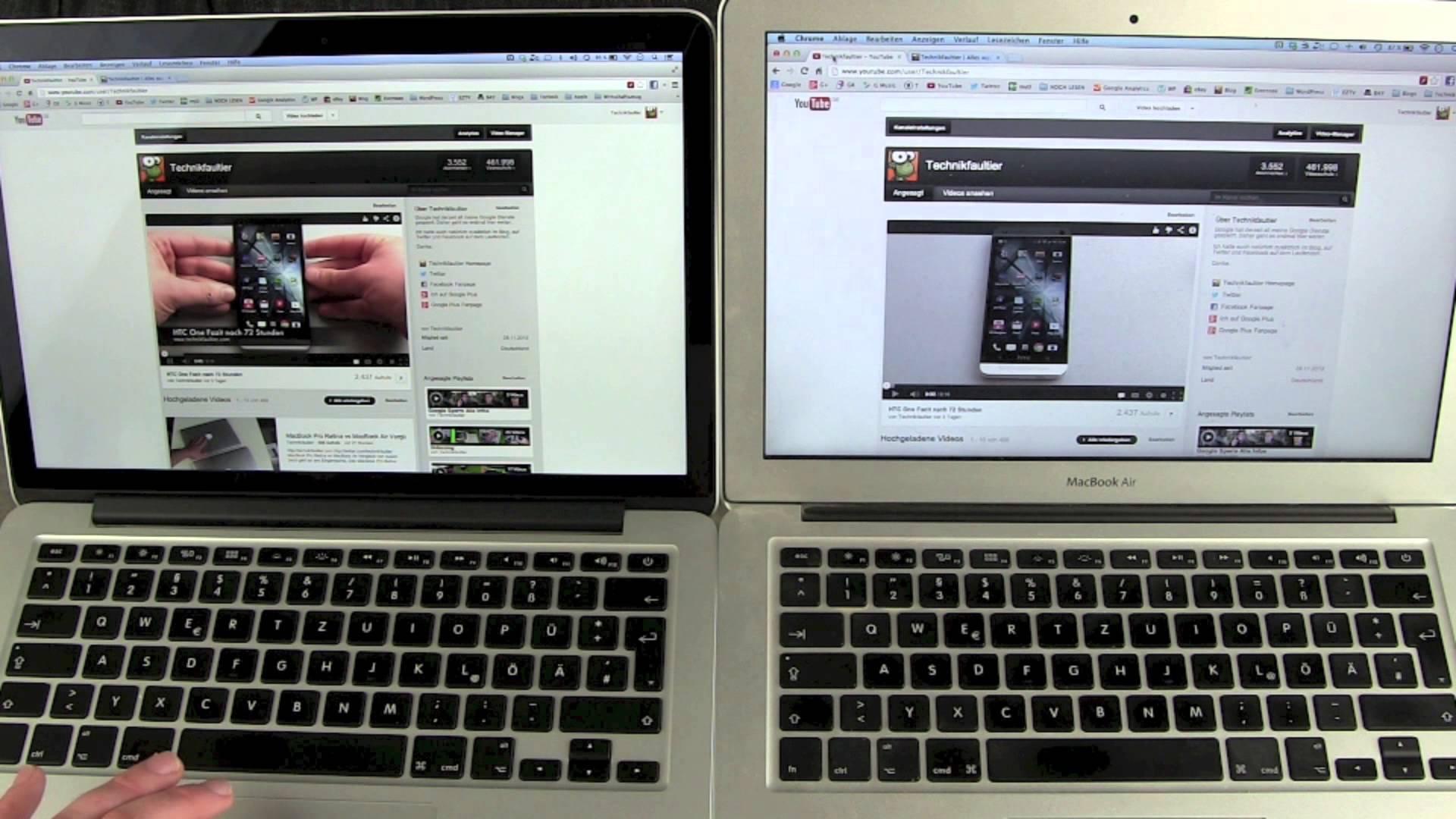 macbook air vs macbook pro a surprising result geek reply