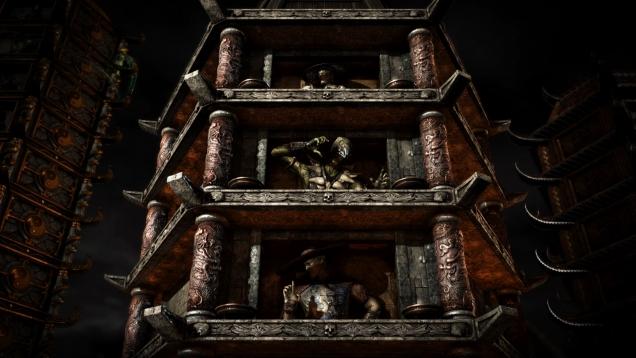 Rumors of Mortal Kombat X Holiday Seasonal Towers Pop Up