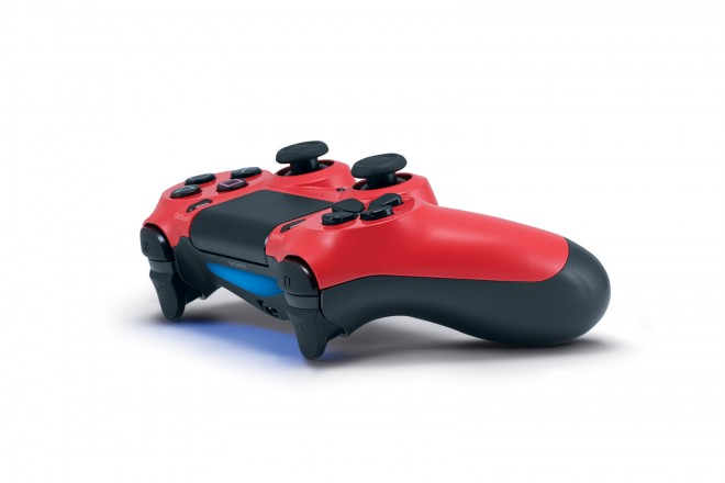 Magma Red Dualshock 4 Announced by Sony