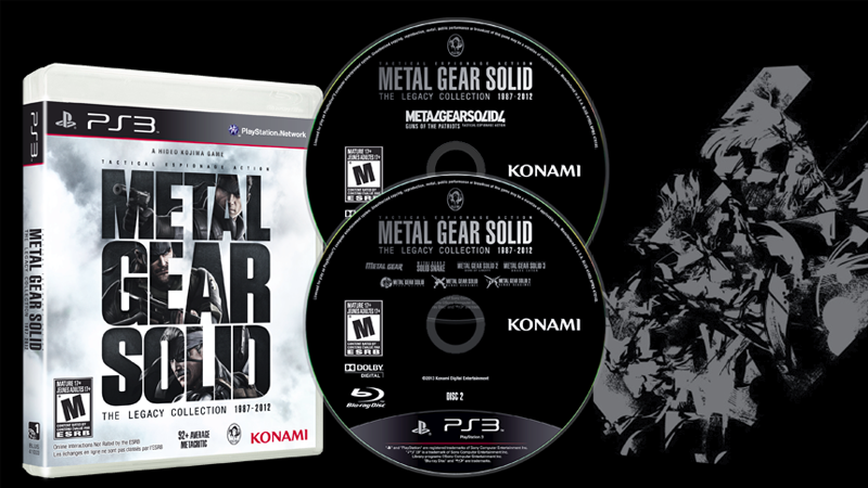 Review – the metal gear solid legacy collection ps3 – squallsnake. Com.