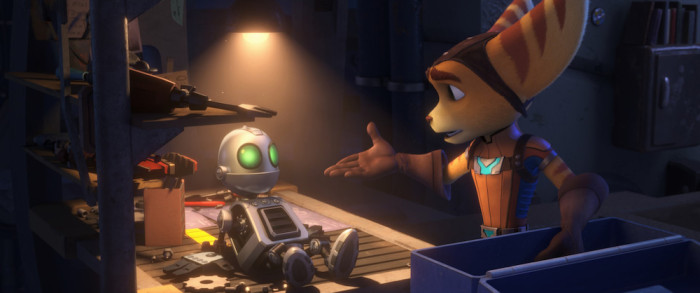 All Star Cast Joins Ratchet & Clank Movie