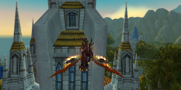Blizzard lead designer says that mounted flight won't appear in Warlord's of Draenor