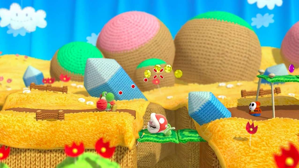 Yoshi's Woolly World looks surprisingly real