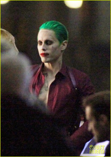 "Jared Letto's Joker will have the ""Damaged"" Tattoo"