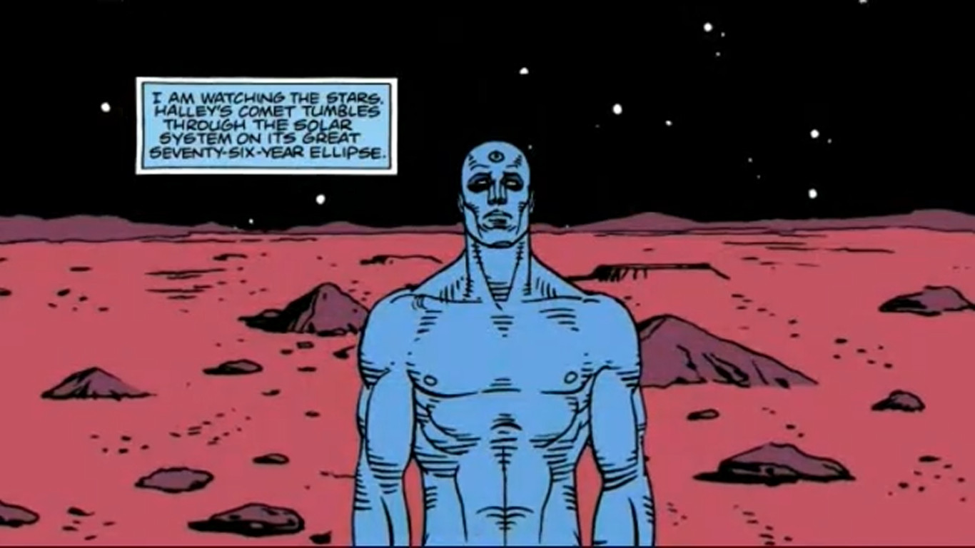 Doctor Manhattan | 11 Most Tragic Comic Characters