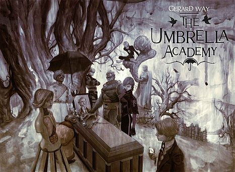 umbrella-academy-gerard-way-mcr-comic-book
