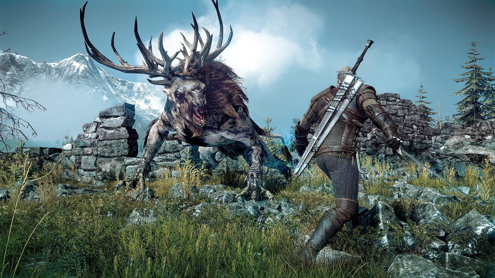The Witcher 3 launch cinematic A Night to Remember