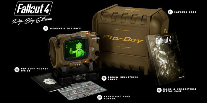 Bethesda confirms on their Twitter that when the Limited Fallout 4 Pip-Boy Editions are gone they will be gone for good