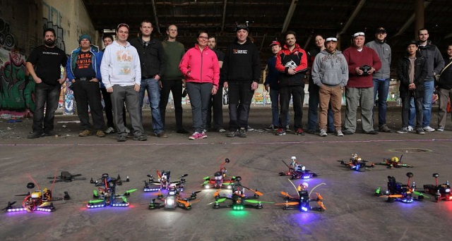 Drone racing is apparently a thing in Australia and will ...