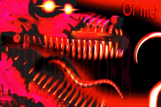 five nights foxy brightened