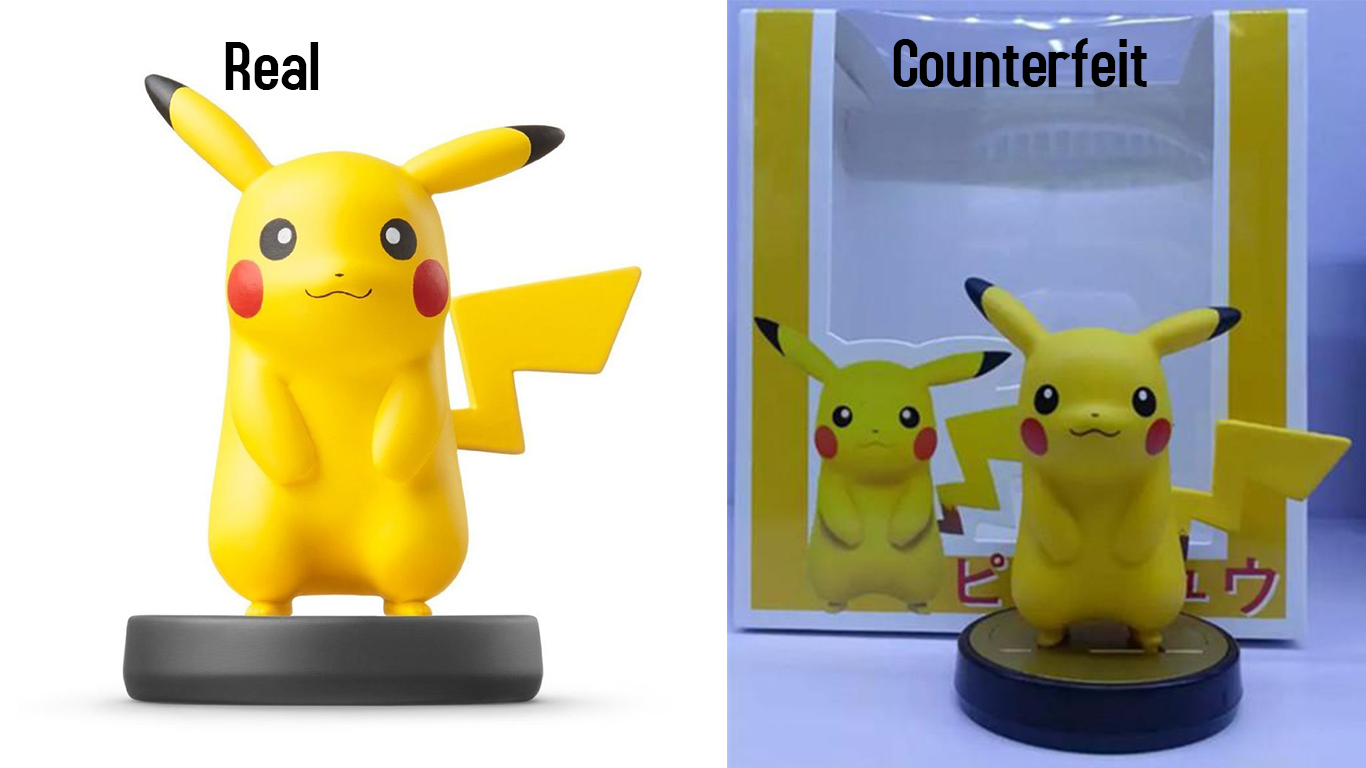 Collectors Beware Counterfeit Amiibo's have Appeared