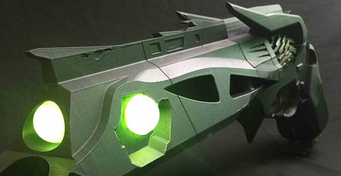 Destiny creates working Thorn hand cannon