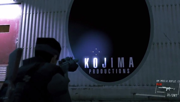 Ground Zeroes easter egg Kojima Konami split