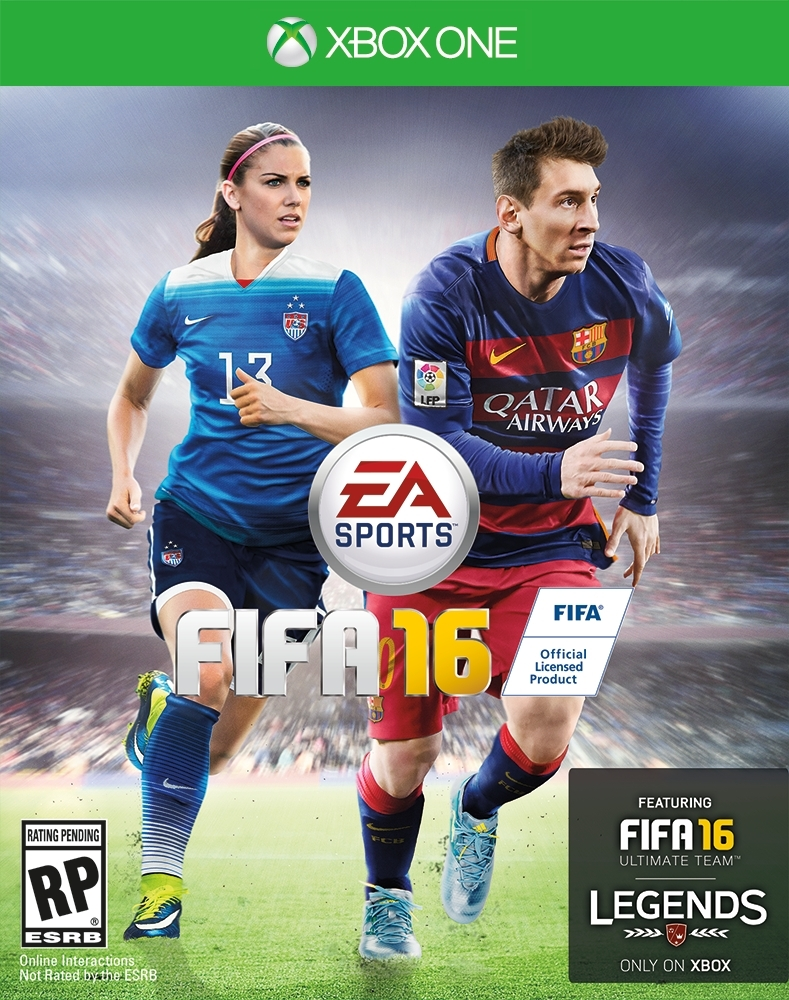 FIFA 16 cover female players