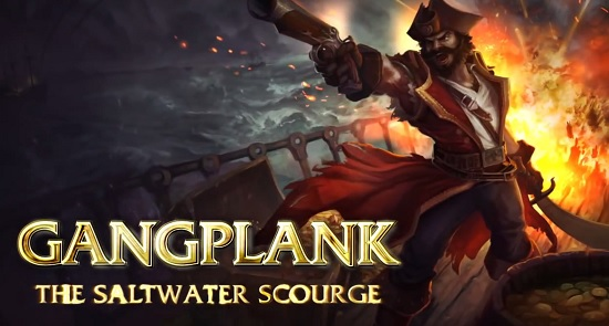 League Of Legends Gangplank killed