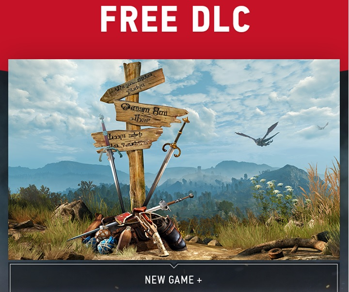 Witcher 3 free DLC new game +