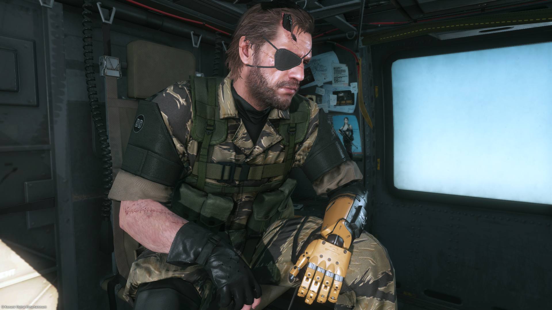 metal gear solid v the phantom pain receives new comparison