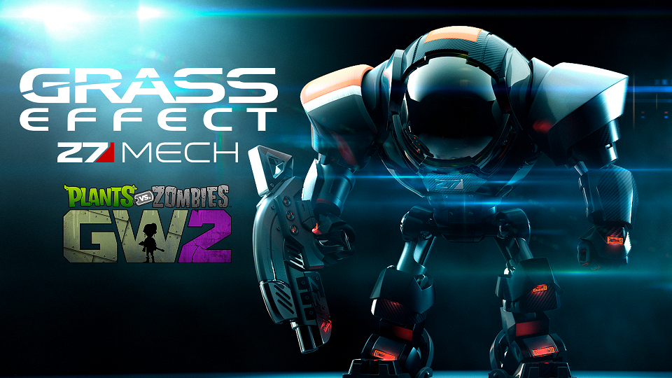 Grass Effect N7 Mech revealed for Garden Warfare 2