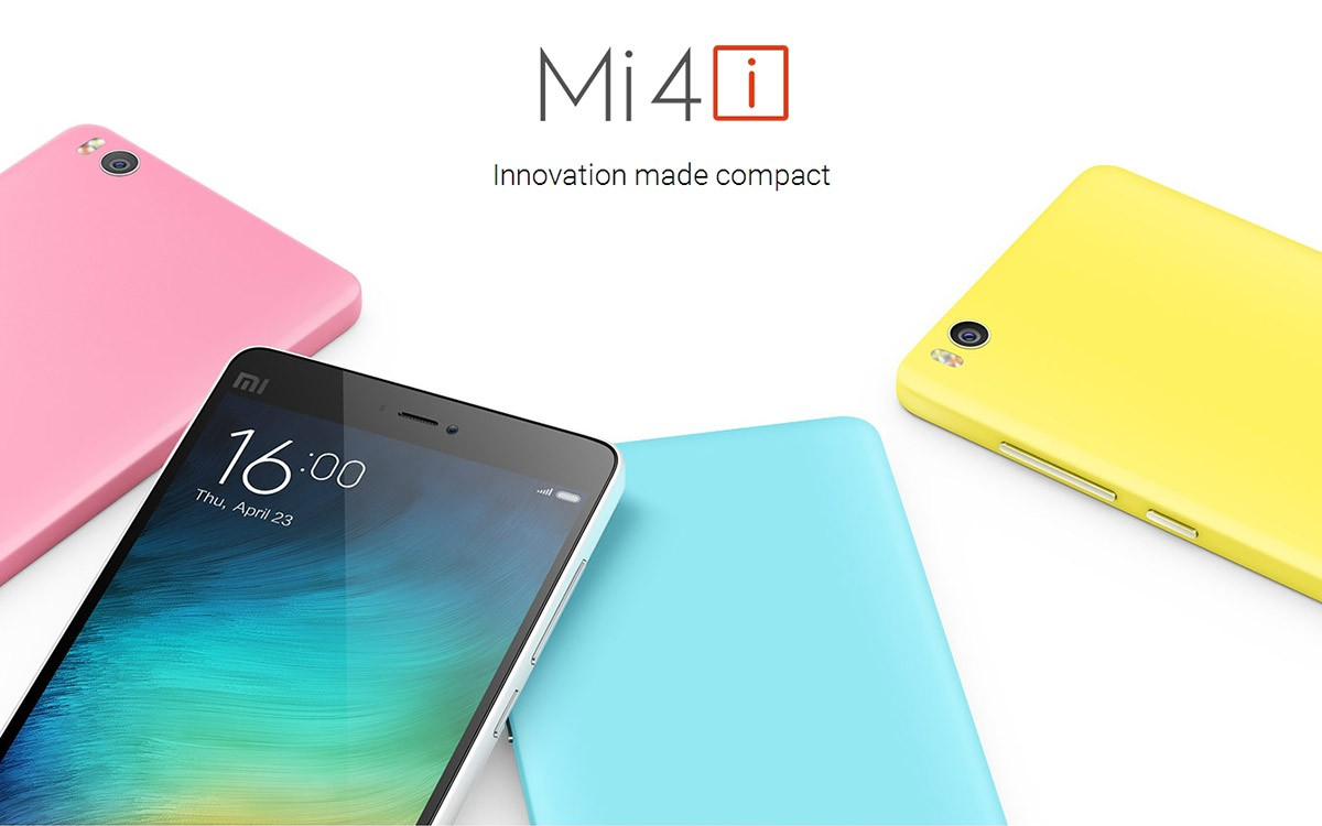 xiaomi mi4i advanced price release