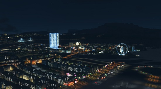 Cities: Skylines After Dark DLC