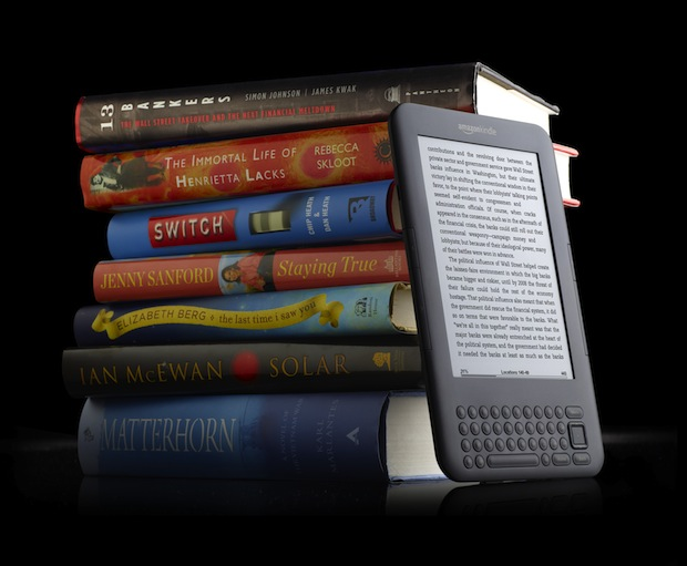 Kindle-vs-traditional-books