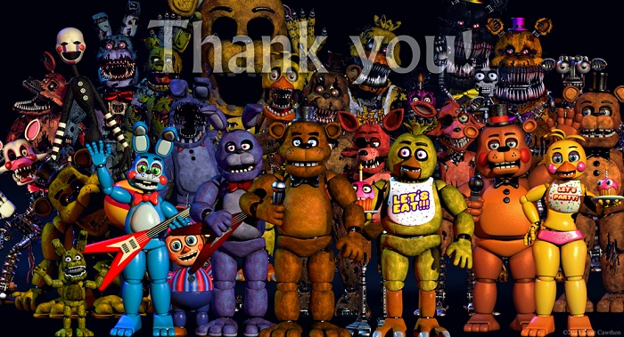 Five Nights At Freddy's Thank you 1
