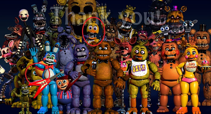 Five Nights At Freddy's Teaser thank you 3
