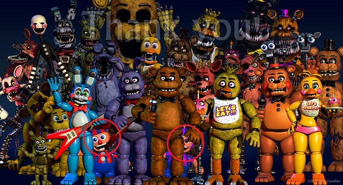 Five Nights At Freddy's Teaser thank you 4