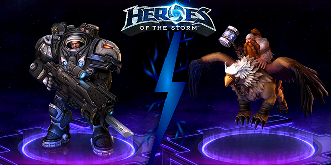 Heroes Of The Storm Best Assassin Raynor Vs Falstad