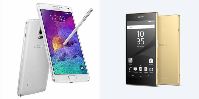 note5_vs_xperiaZ5