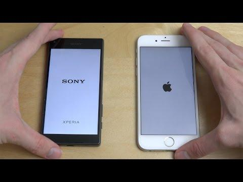 xperia z5 compact vs iphone 6 ios vs android