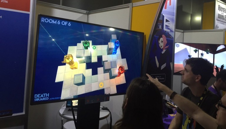 Death Squared at PAX Aus 2015