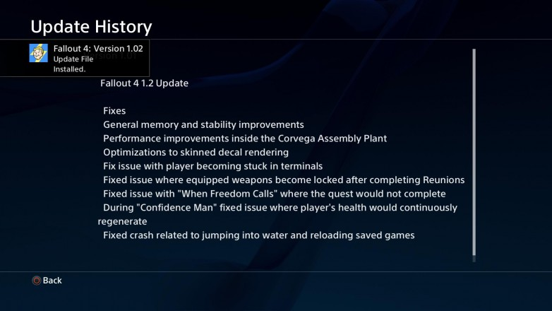 F4 patch notes
