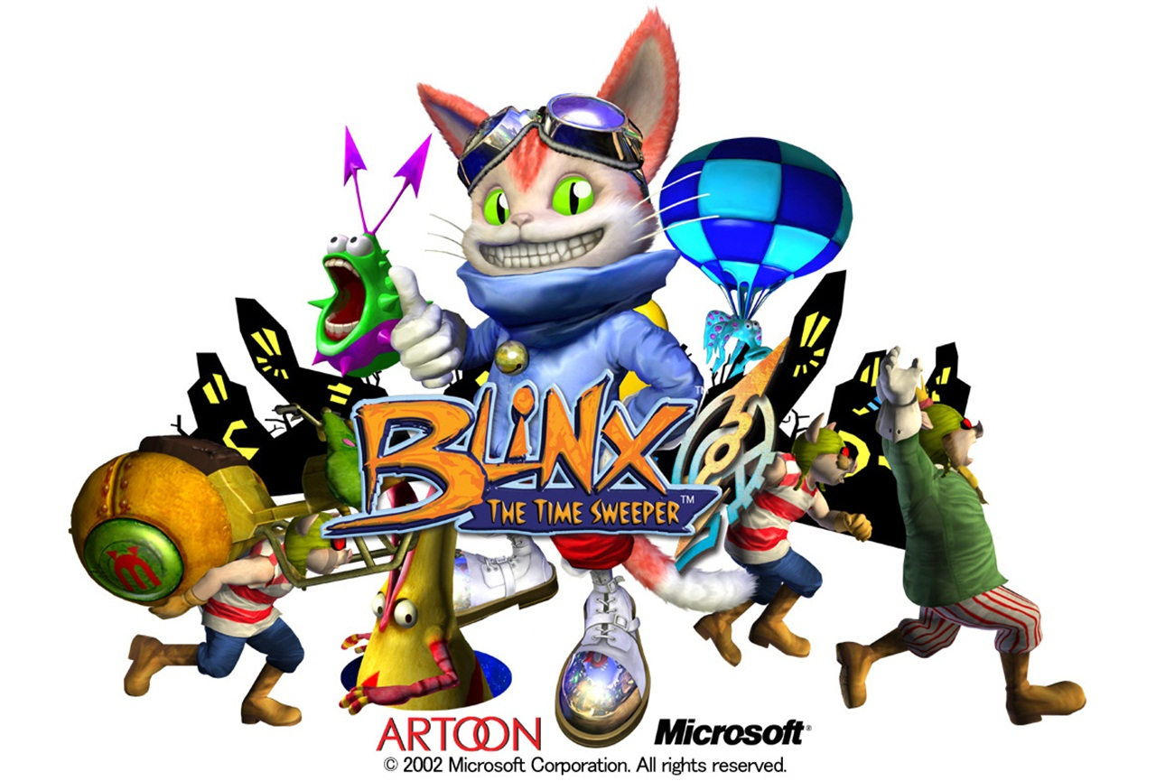 blinx-the-time-sweeper-download-review-platformer-retro-game