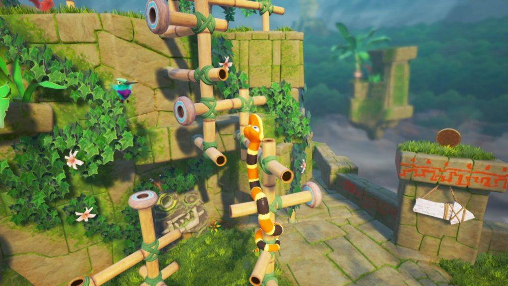Snake Pass Review - A Charming and Punishing Platformer