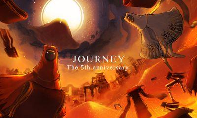Journey's fifth anniversary