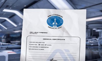 Bioware Joins the Tradition of Providing an In-Game Doctor's Note for Mass Effect: Andromeda