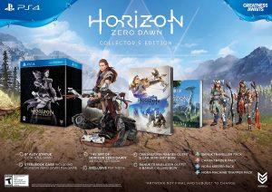 Horizen Zero Dawn Collector's Edition