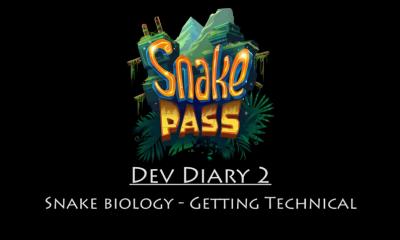 Snake Pass' Second Developer Diary Focuses on Snake Movement Gameplay Mechanics