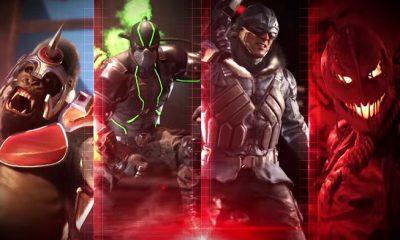 Injustice 2 Latest Trailer Reveals Four New Characters and They're All Villains