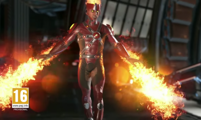 Injustice 2 Firestorm Trailer Shows Off the Newly Revealed Character